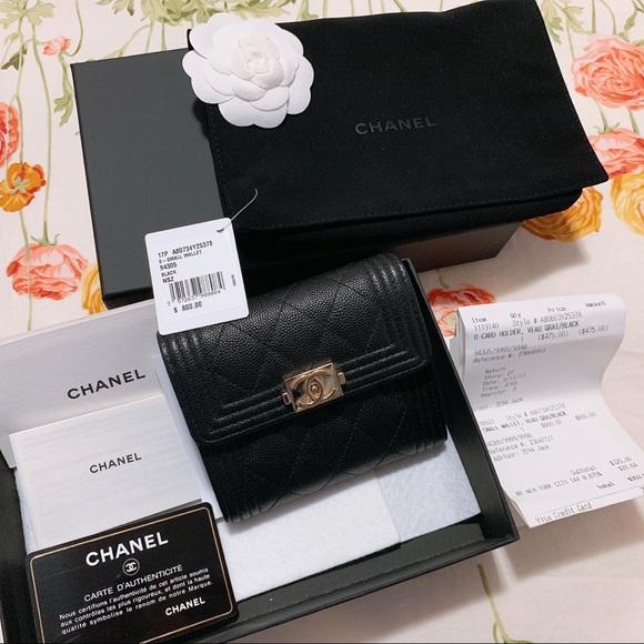 6844439e82ca0f CHANEL Handbags - Like New 100Authentic Chanel 2018 SS Le boy Wallet